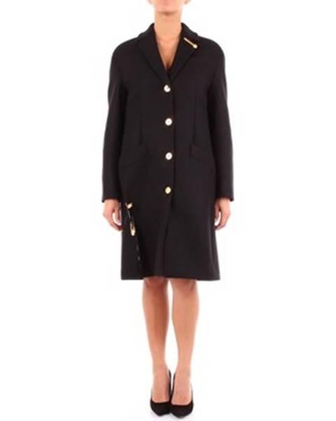 Čierny kabát Versace