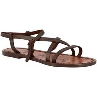 Sandále Leonardo Shoes  539 T. MORO