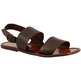 Sandále Leonardo Shoes  500 T.MORO