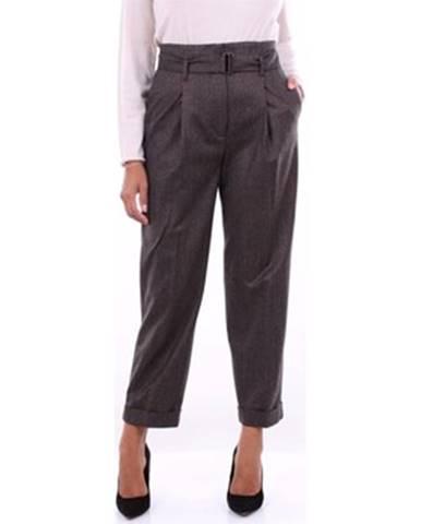 Viacfarebné nohavice Peserico