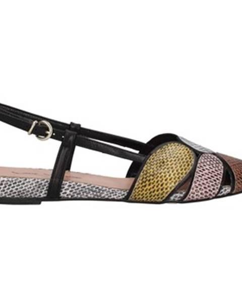 Čierne sandále Paolo Mattei