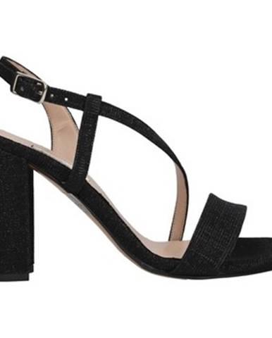 Čierne sandále L'amour