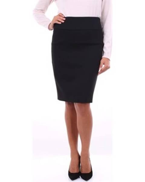 Čierna sukňa Peserico