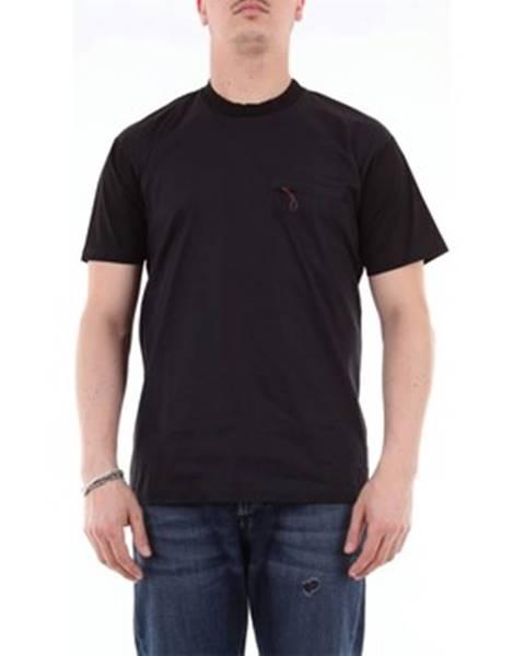 Čierne tričko Lowbrand