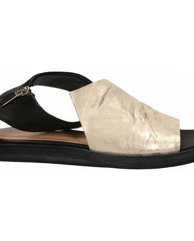 Čierne sandále Salvador Ribes