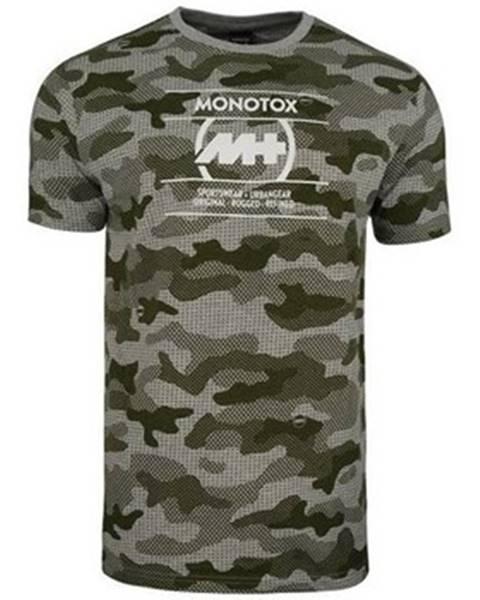 Viacfarebné tričko Monotox