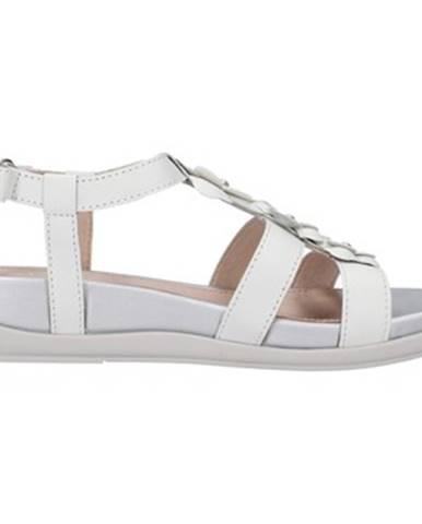 Biele sandále Stonefly