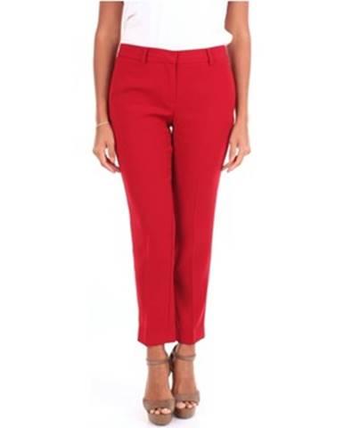 Červené chino nohavice Simona Corsellini