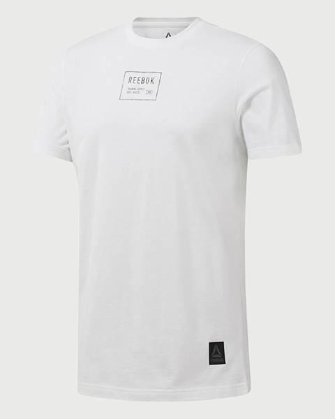 Biele tričko Reebok
