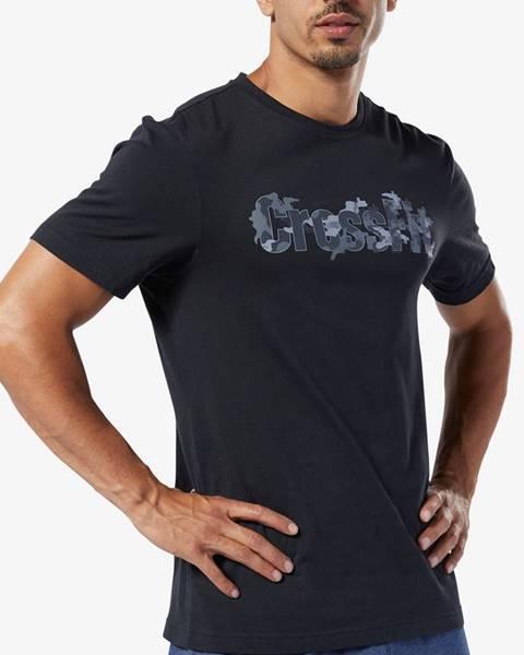 Čierne tričko Reebok