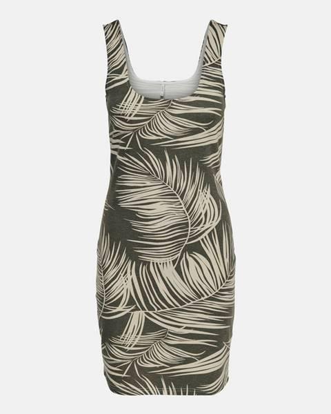 Kaki šaty Only