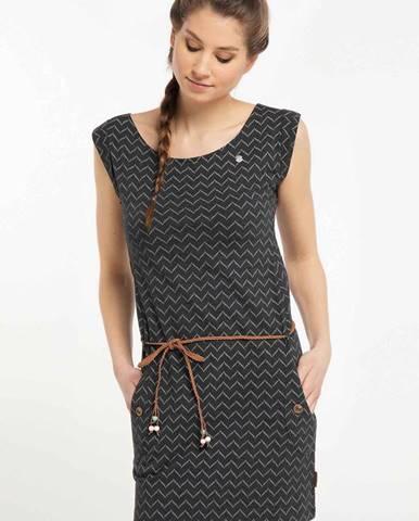 Čierne šaty Ragwear