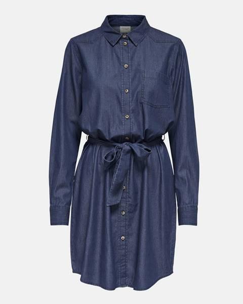Tmavomodré šaty Jacqueline de Yong