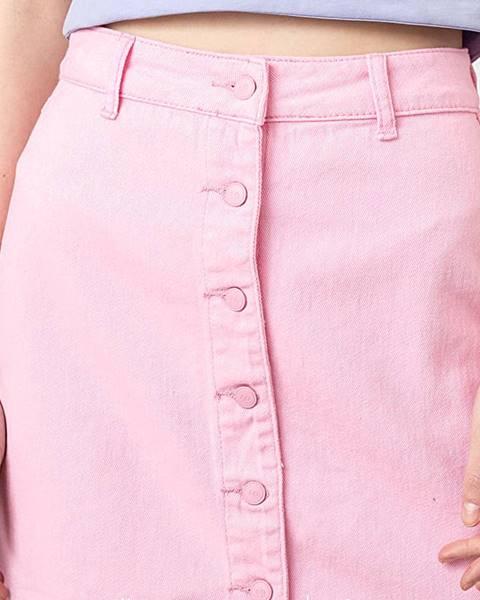 Ružová sukňa Lazy OAF