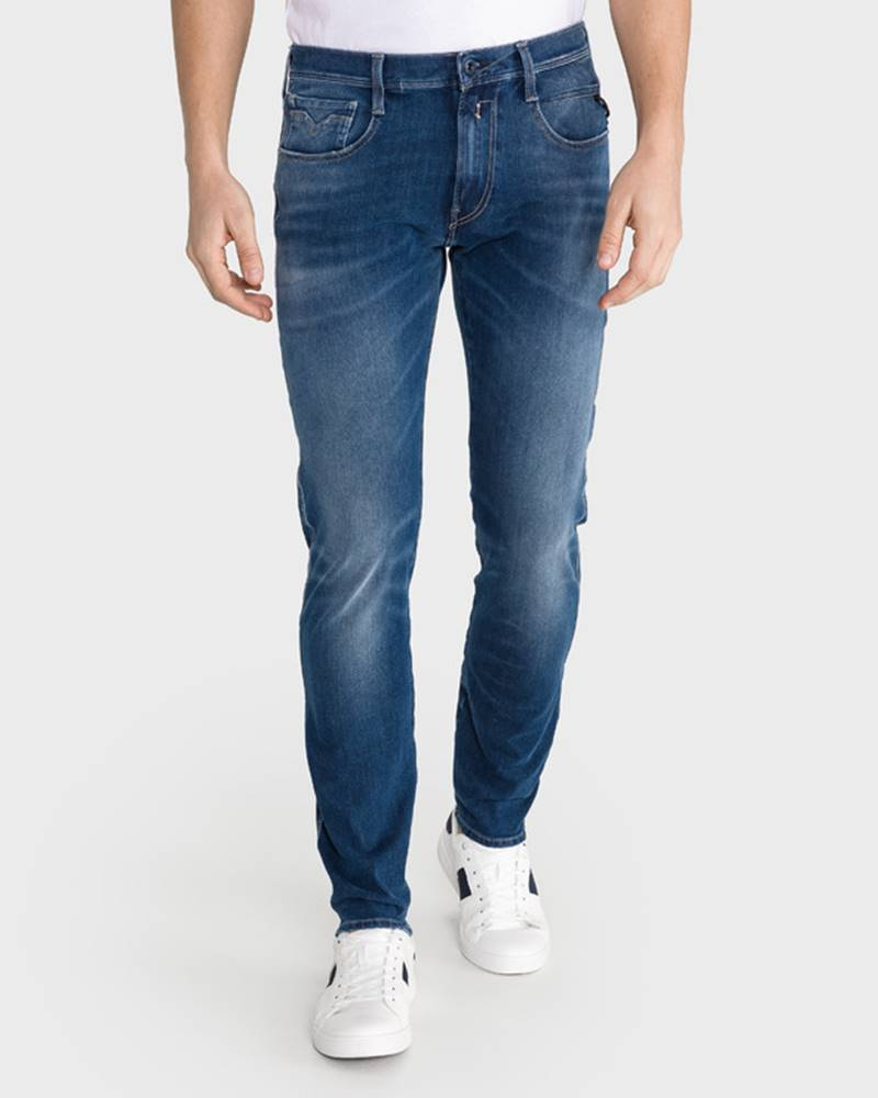 Replay Replay Anbass Jeans Modrá