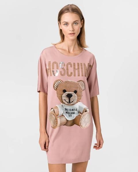 Ružová sukňa Moschino