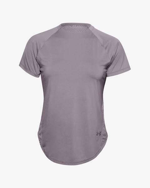 Fialové tričko Under Armour
