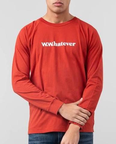 Červené tričko WOOD WOOD