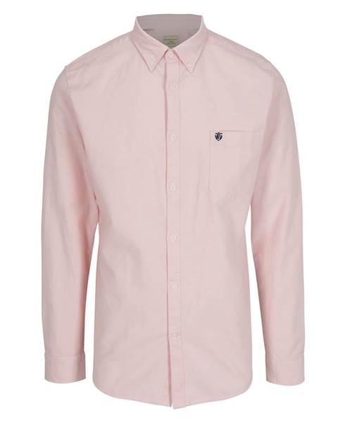 762ec6c3ee46 ZĽAVA až 50% na Svetloružová regular fit košeľa Selected Homme
