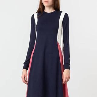 WOOD WOOD Mandy Dress Navy Colorblock