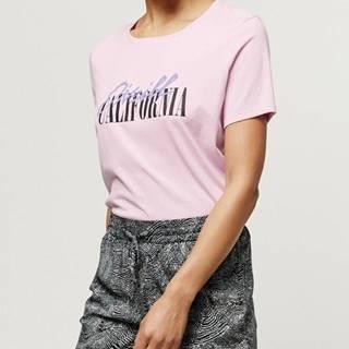 Tričko O´Neill Lw Script Logo T-Shirt Růžová