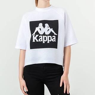 Kappa Bawi Tee White/ Black