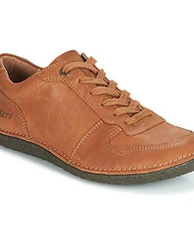 Hnedé topánky Kickers