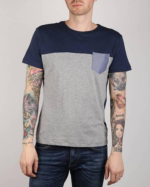 Sivé tričko Gas