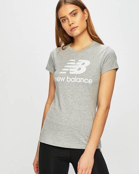 Sivé tričko New Balance