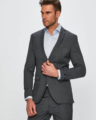 Sivé sako Premium by Jack&Jones
