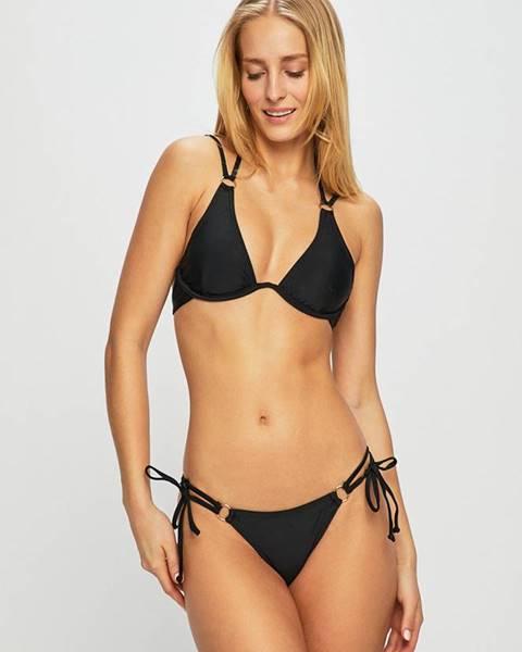 Čierne dvojdielne plavky Answear