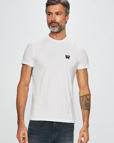 Biele tričko Wrangler