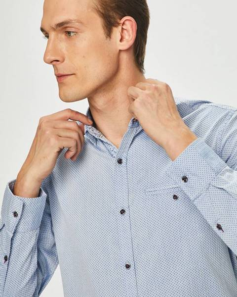 Modrá košeľa MEDICINE