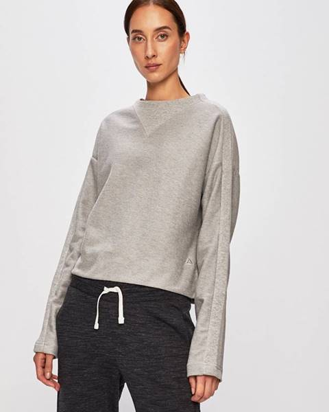 Sivý sveter Reebok