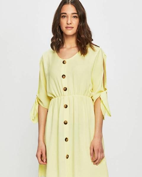 Žlté šaty Haily's