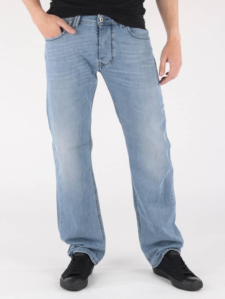 Diesel Džínsy Diesel Larkee L.32 Pantaloni Modrá