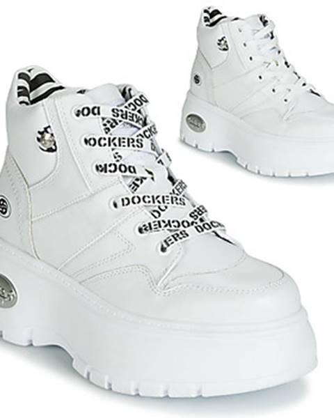 Biele topánky Dockers by Gerli