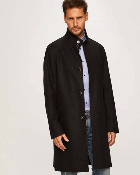Čierny kabát Calvin Klein