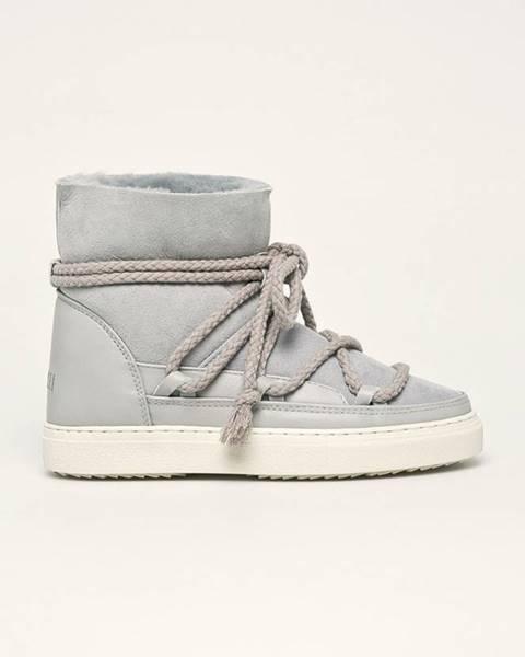 Sivé zimná obuv Inuikii