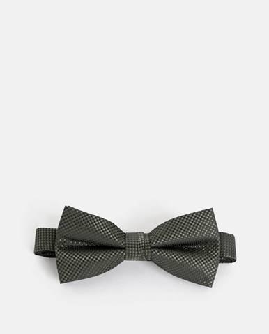 Tmavozelená kravata Jack & Jones