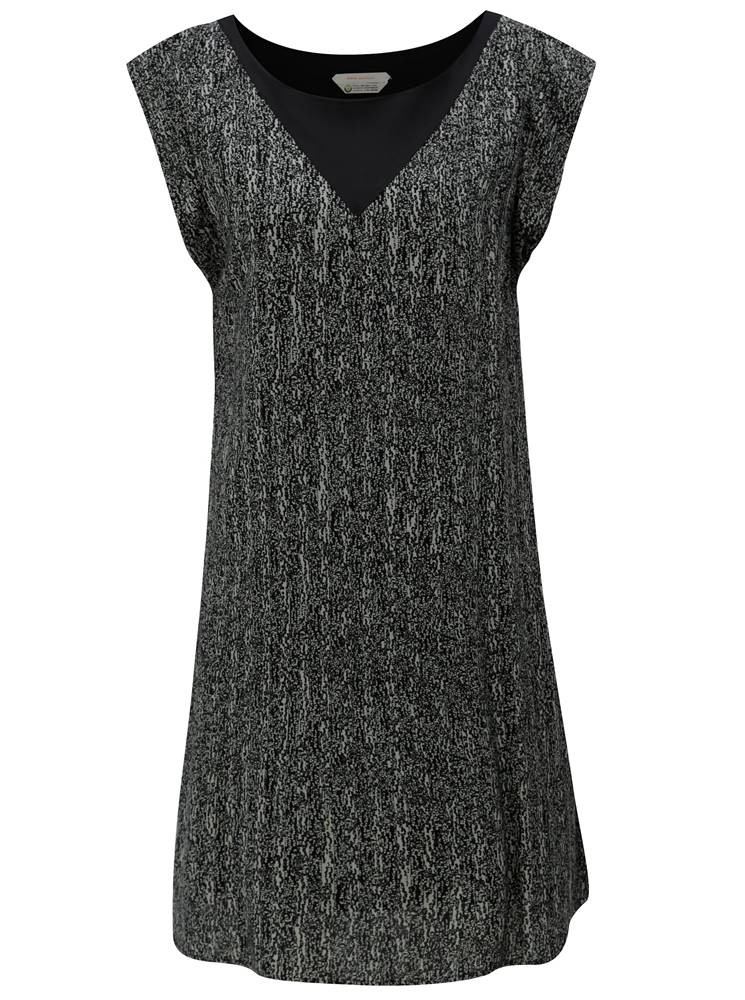 Sivo-čierne voľné vzorované...