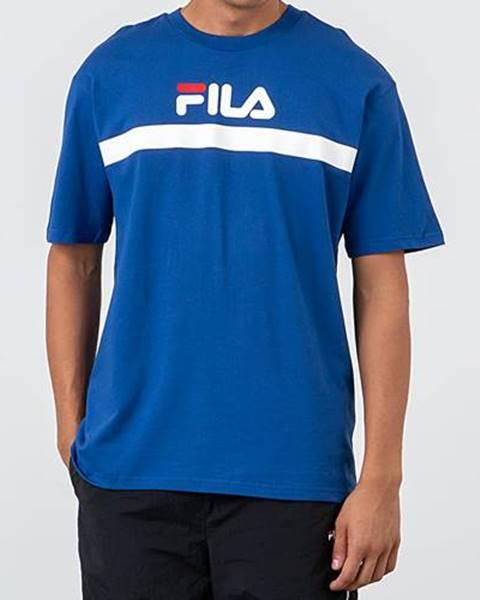 Modré tričko Fila
