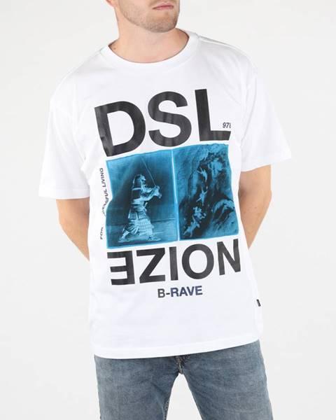 Farebné tričko Diesel