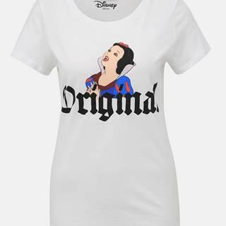 Biele tričko s potlačou ONLY Disney Princess