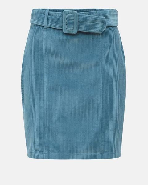 Modrá sukňa Dorothy Perkins