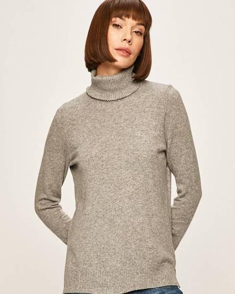 Sivý sveter Lacoste