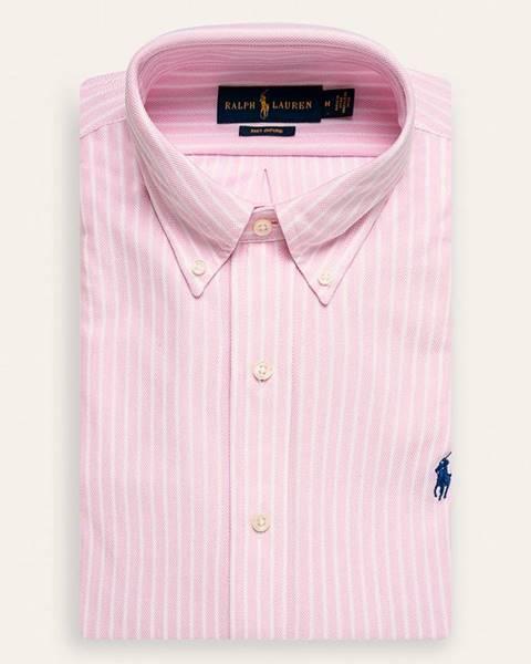 Ružová košeľa Polo Ralph Lauren