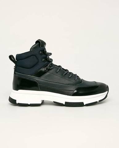Tmavomodré topánky Calvin Klein