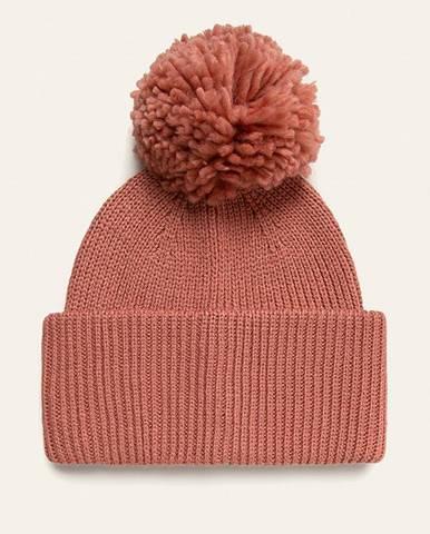 Ružová čiapka Pieces