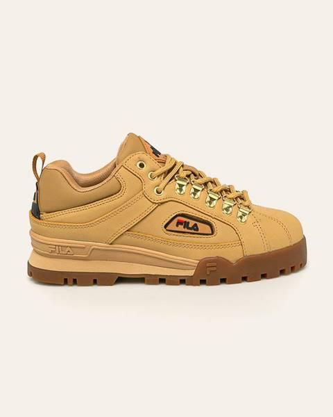 Béžové topánky Fila